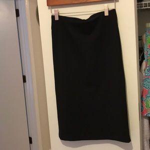 Loft High Waisted Pencil Skirt